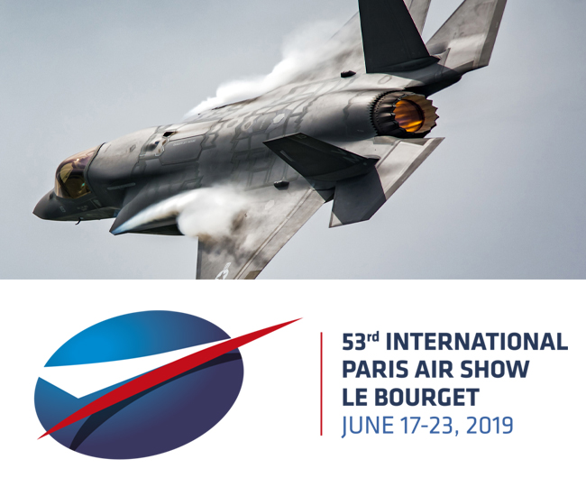 Come and meet CW Fletcher at Paris Air Show!
