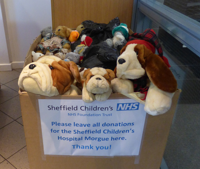 CW Fletcher donates to support the Sheffield Children's Hospital Morgue
